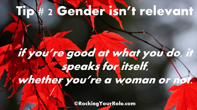 Female Breadwinners RockingYourRole - Tip 2