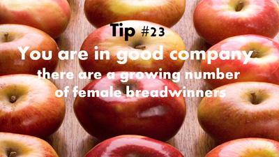 Female Breadwinners RockingYourRole - Tip 23